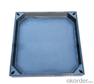 Ductile Iron Manhole Cover EN124 Standard for Construction