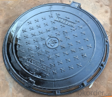 Ductile Iron Manhole Cover with New Style EN124 Standard  for Construction