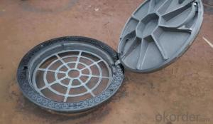 Ductile Iron Manhole Cover C250 with Competitive Price EN124 Standard