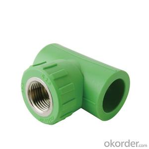 Ppr Pipe Fittings Three-Way Fittings with Good Quality from China