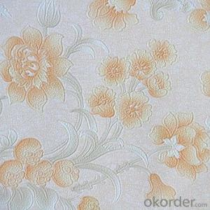 Howoo New Cork Wall Covering Wallpaper Home Decoration Rose Wallpaper
