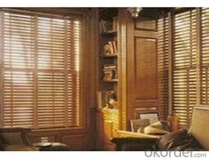 Outdoor Double Sided Manual  Bamboo Roller Blinds