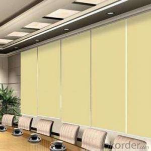 Zebra Roller Blind to Keep Warm in Cold Winter