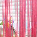Roller Blind And Curtains Accessories With Beaded Net
