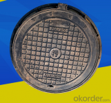 B125 CLASS Cast Iron Double Seal Manhole Cover and Frames