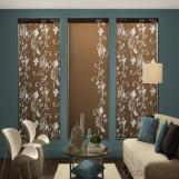 vertical motorized roller blinds in many styles