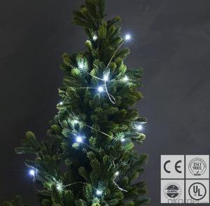 Cold White Copper Wire String Lights for Outdoor Indoor Wedding Festival Party Decoration