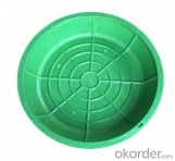 Ductile Iron Manhole Covers D400 B125 with High Quality for Construction