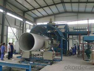 Several Sizes FRP Fiber Reinforced Plastic Pipe flexible making machine in High Quality