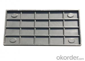 Ductile Iron Manhole Covers D400 B125 for Industry  and Mining with Competitive Price in China