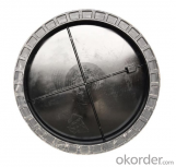 Ductile Iron Manhole Cover B125 D400 with Competitive Price in China