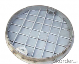 Ductile Iron Manhole Covers with EN124 Standard D400 with High Quality
