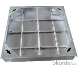 EN 124 ductile iron manhole covers with high quality for industry