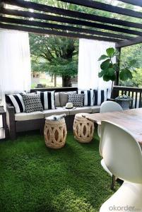 2018 hot selling outdoor fake carpet artificial grass turf for garden and landscape