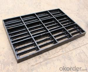 Hot Sale EN124 A15 Hinged Manhole Cover with Lock