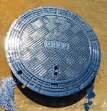 Ductile Iron Manhole Cover C250 B125 with New Style