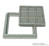 Cast Ductile Iron Manhole Covers B125 D400 with Competitive Price in China