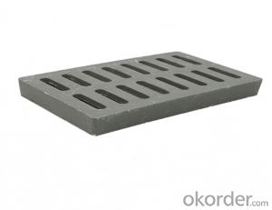 Cast EN 124 ductile iron manhole covers with high quality for industry and construction