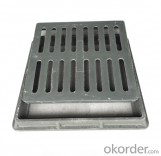 Cast Ductile Iron Manhole Covers B125 C250 for Mining with Competitive Prices