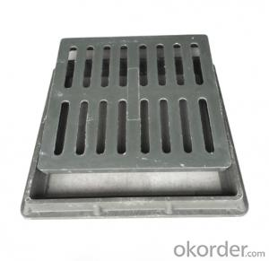 Ductile Iron Manhole Cover with Hinge and Lock EN124