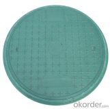 Cast Ductile Iron Manhole Covers with High Quality in Hebei
