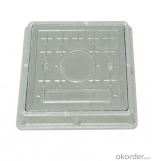 Casting ductile iron manhole covers for mining and industry EN124