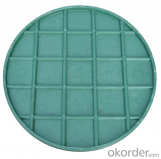 Casting EN 124 ductile iron manhole cover with high quality for industry and construction