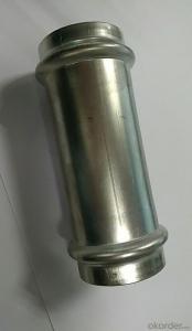 Stainless Steel Sanitary Fitting Slip Coupling 35mm V Profile 304