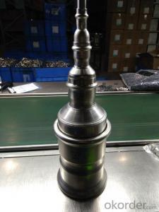 Stainless Steel Sanitary Fitting Reducing Coupling with Pipe M Profile 316L