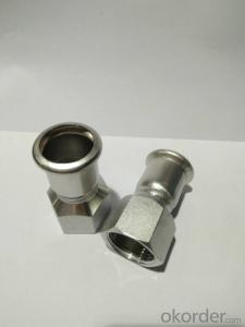 Stainless Steel Sanitary Fitting Female Coupling DN20x3/4 M Profile 304