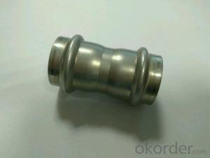 Stainless Steel Sanitary Fitting Coupling 28mm V Profile 304