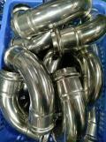Stainless Steel Sanitary Fitting 45deg & 90deg Elbow DN65 V Profile 304