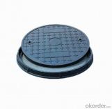 Ductile Iron Manhole Cover D400 EN124 of Light Duty
