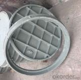 Casting Ductile Iron Manhole Covers C250 B125 with Competitive Prices in China