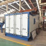 Asphalt vibrating screen for mining quarry