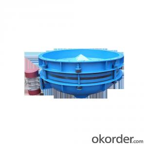 Vibration feeder hopper useused in military and chemical industry