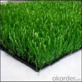 Safety artificial grass used for decorative purposes