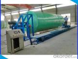 FRP Composite Filament Winding Machine for Fiberglass Tanks with High Quality of New Design