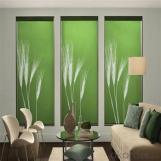 Zebra Roller Blinds Windows Home Decoration Night Vision