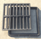 Casting OEM ductile iron manhole cover with high quality for industry