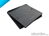 Square and Round Ductile Iron Manhole Cover EN124