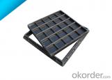 Ductile Iron telecom Manhole Cover with OEM Service