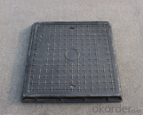 Cast Ductile Iron Manhole Covers of Grey with High Quality for Construction and Mining