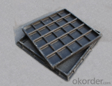 Cast Ductile Iron Manhole Covers of Grey with High Quality in Hebei