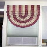 Printed Retractable Vertical Window Blinds
