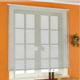 Vertical Electric Wood Kitchen Valance Blinds
