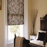 Zipper Roller Blind Curtains for The Living Room