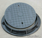 Casting Iron Manhole Cover For Construction and Mining