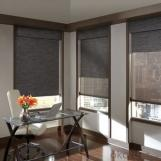 Blinds with Printed Pattern for Living Room