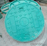 Dctileu Iron Manhole Cover with Different Shapes